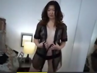 Korean MILF not shy to show her pair of boobs straight asian korean