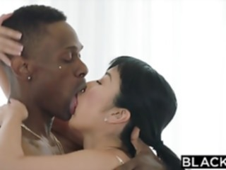 BLACKED Japanese Journalist vs The BIGGEST BBC IN THE WORLD asian blowjob brunette