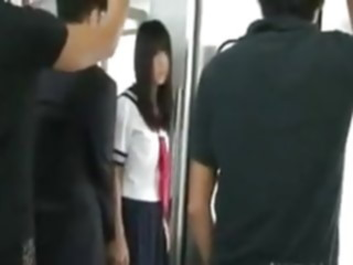 JAPAN PORN TRAIN public nudity japanese gangbang
