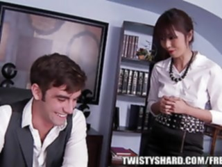 Marcia Haze is the new intern hired to help in the office asian blowjob japanese