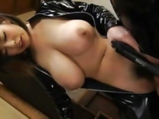 Latex asian girl with big tits asian tits latex