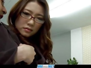 Subtitles - Boss fucked her japanese secretary Ibuki anal asian japanese